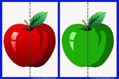 Skládanka - jablíčko