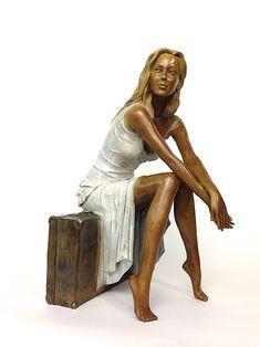 Les sculptures en bronze d'Alain Choisnet Suzy Suzy, David Kroll, Lee Price, Brad Kunkle, Cameron Smith, Kim English, Alfred Stevens, Bo Bartlett, Molde