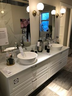 Relaxing Bathroom, Double Vanity, Bathroom Ideas, Houses, Homes, House, Computer Case, Home, Double Sink Vanity