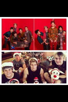 A 5sos and one direction Christmas