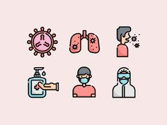 🦠 Virus Transmission Icon Set 🔬 designed by KonKapp. Connect with them on Dribbble; Sketch Design, Icon Design, Cute Love Images, Medical Icon, Line Icon, Icon Set, Eid, Digital Illustration, Outline
