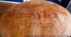 My mother bought alot of Scandinavian teak furniture in the 70's and I have inherited many pieces that I love. Unfortunately 40 year...