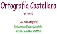 Ortografía Castellana en la red Dyslexia