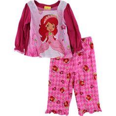 "Strawberry Shortcake ""Her Majesty"" Toddler Girls Pink Pajama Set Size 2T-4T (3T) Strawberry Shortcake http://www.amazon.com/dp/B00903EPE0/ref=cm_sw_r_pi_dp_T.Y.tb19H6TJN"