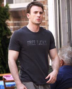 FREE LICKS Chris Evans in What's Your Number