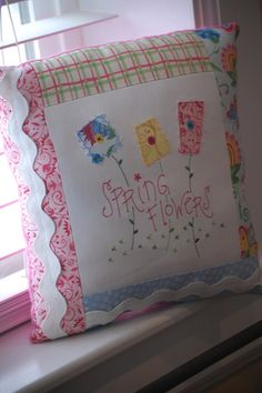 Make a Basic 4-Sided Pillow! | Machine Embroidery Designs | SWAKembroidery.com