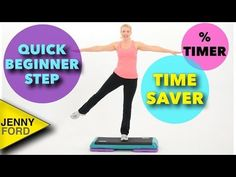 Beginner Step Aerobics Quick Cardio Workout At Home Fitness - YouTube