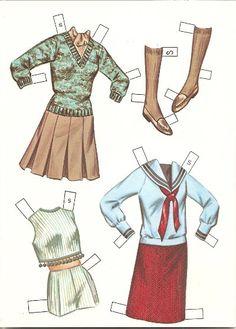 clothes for vintage paper doll Susan