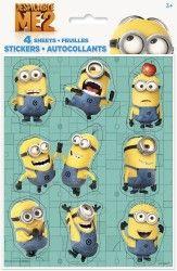 Despicable Me 2 Sticker Sheets, 4-Piece