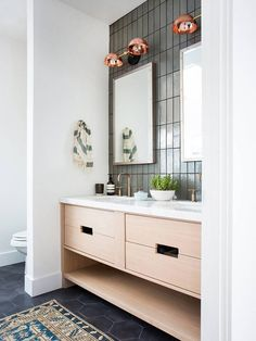 14 Seriously Impressive Small-Bathroom Transformations