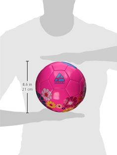 Vizari Blossom Soccer Ball PinkBlue 3 >>> See this great product.Note:It is affiliate link to Amazon.