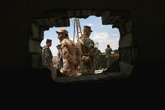 Iraq forces combat the Islamic State