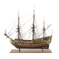 1:84 Sovereign of the Seas scale model ship