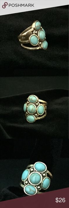 Silpada brass and turquoise ring. This stylish ring was intended to be released summer of 2016, but when Silpada closed their doors it was one of the great pieces that was never presented to the public. A true collectible. Made of brass and turquoise. New. Silpada Jewelry Rings