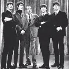 Beatles on The Ed Sullivan Show, everyone knew they were sexy. Even Ed was sexy in a nerdy way.