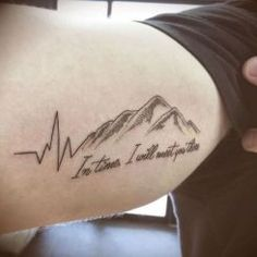 Epic And Elegant Mountain Tatoo 15
