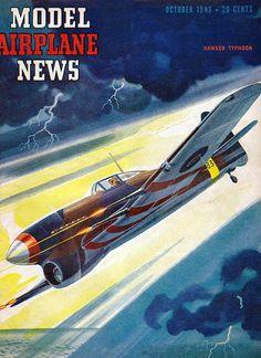 Model Airplane News 1943-10