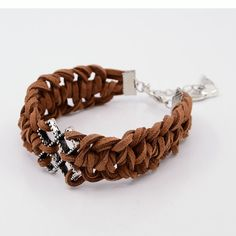 PandaHall Jewelry—Braided Faux Suede Cord Bracelets with Alloy Links   PandaHall Beads Jewelry Blog