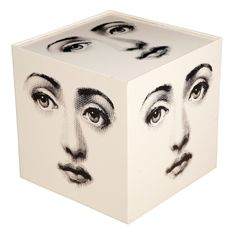 Cube Table Base By Piero Fornasetti. C1960
