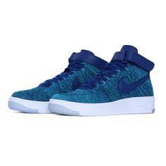 best sneakers 49984 e6fc2 Tênis Nike Air Force 1 Flyknit Mid Feminino