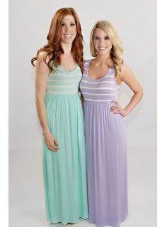 Pastel Love Maxi Dress