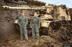 Sd.Kfz. 164 Panzerjager Nashorn of Schwere Panzerjager Abteilung 655 in Eastern…