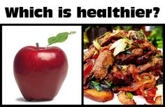 What's More Healthy: An Apple, Or Liver?