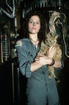 Sigourney Weaver as Ripley in Alien, 1979