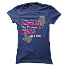 Texas Girl In A Chicago World! - #novio gift #gift certificate. GUARANTEE  => https://www.sunfrog.com//Texas-Girl-In-A-Chicago-World-ladies.html?id=60505