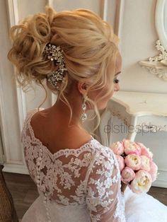 Elstile Long Wedding Hairstyle Ideas 7