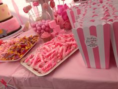 Baby Shower- candy buffet