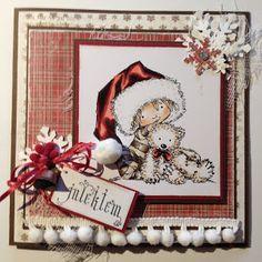Kirstens Hobbyblogg: Julekort ....