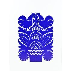 Hand made by folk artist Mr. A. Dudkiewicz, traditional paper cut-out from Rawa Mazowiecka.