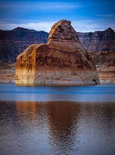 Reasons Celebrities Love Vacations at Lake Powell Lone Rock beach, Lake Powell, Arizona | USA by Pat Kofahl