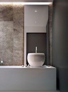 Modern kitchen and bathroom design solutions.award winning design studio for the kitchen & bathroom. hand made bathroom furniture Minimalist Baths, Minimalist Home Decor, Minimalist Bathroom, Minimalist Interior, Bathroom Spa, Bathroom Toilets, Washroom, Granite Bathroom, Bathroom Ideas
