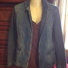 Casual denim blazer - Mercari: Anyone can buy & sell
