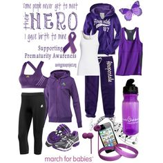 """""""Prematurity Awareness - March for Babies"""" by fallinlove82603 on Polyvore"""