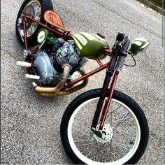 Yamaha XS650 Bobber #motorcycles #bobber #motos | caferacerpasion.com