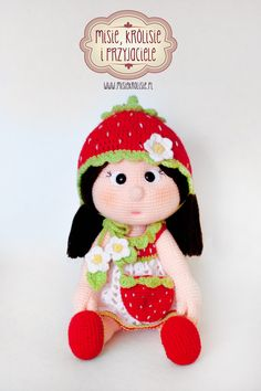 Crochet doll Amigurumi Havva Unlu Design www.misiekrolisie.pl