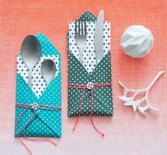 Make Super Quick + Cute Place Settings