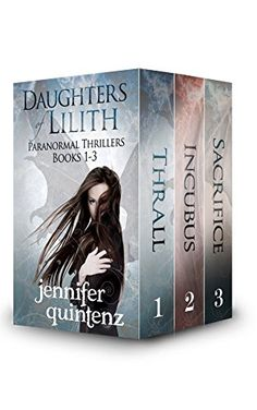 Daughters Of Lilith Paranormal Thrillers: Box Set: Books 1-3 by [Quintenz…