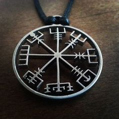 Behold Odin's runes compass !! This special pendant is not something you can find with an everyday joe... Get one of your own. if you dare... Item Type: NecklacesFine or Fashion: FashionLength: 45CMMaterial:Stainless SteelPendant Size: 30mmChain Type: Rope Chain