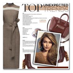 """LATTORI Dress"" by defivirda ❤ liked on Polyvore featuring Lattori, Rochas, women's clothing, women's fashion, women, female, woman, misses, juniors and dress"