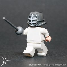 Fencing pro lego :) Repinned by Hub City Fencing Academy of Edison, NJ.