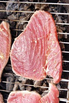 Rezept Thunfisch grillen