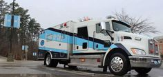 our buddies. UNC aircare. Nice truck. I have a few friends that work with them.