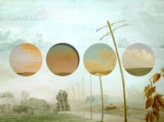 "Relja Penezic; Assemblage / Collage ""California Road Chronicles #46"""