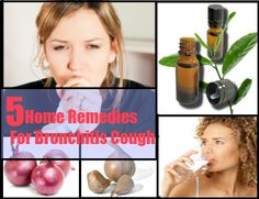 5 Home Remedies For Bronchitis Cough