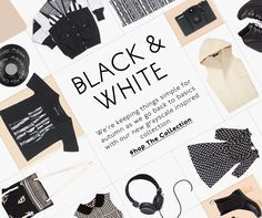 urban outfitters black & white