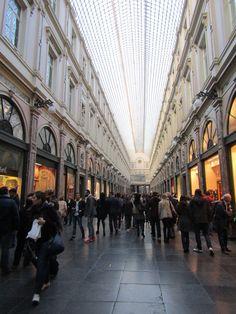 Galerie de la Reine Bruxelles Belgique